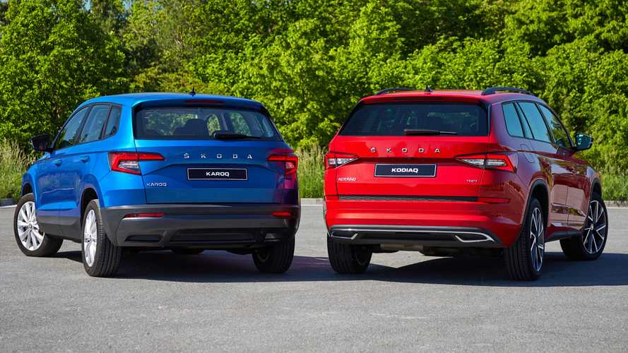 2020 Skoda Karoq and Kodiaq lose rear badge, gain new tech