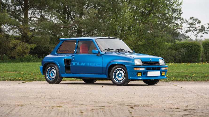 Une Renault 5 Turbo de 1980 va être vendue aux enchères