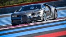 Bugatti Chiron et Chiron Sport sur le Circuit Paul Richard