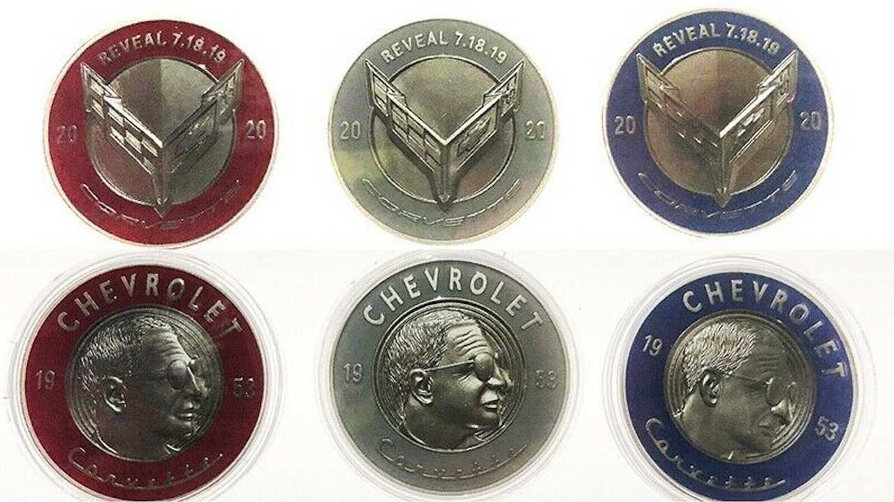 Commemorative C8 Corvette Coins From Debut Ask $1,500 On eBay