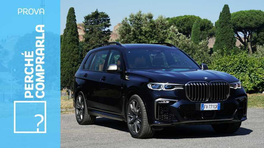 BMW X7, perché comprarla... e perché no