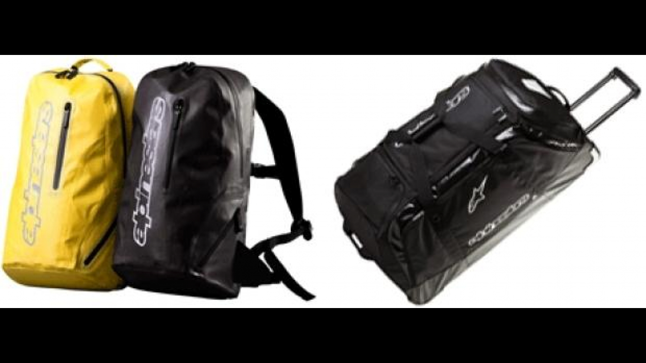Alpinestars 2012: Slipstream Pack e Transition Bag XL