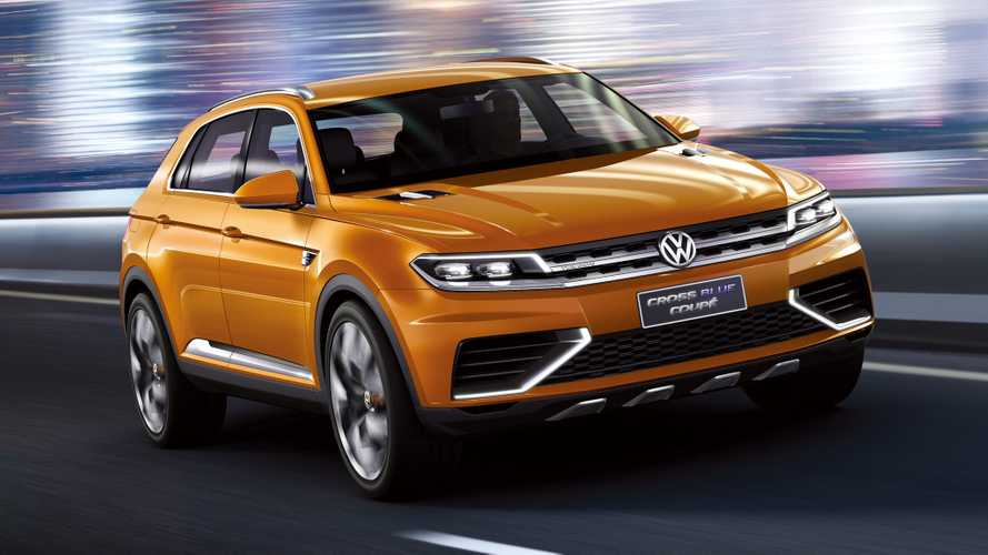 2013 VW CrossBlue Coupe concept