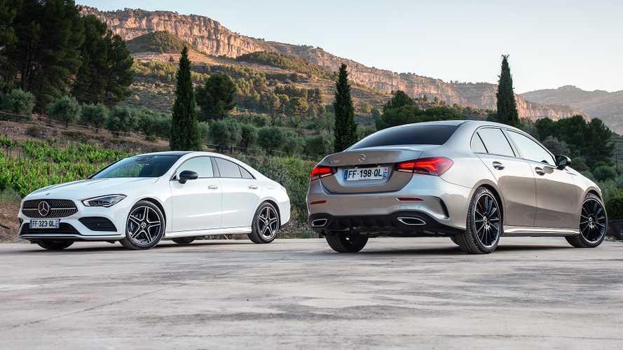 Mercedes Classe A, A Sedan, CLA e CLA Shooting Brake, quattro facce della stessa medaglia