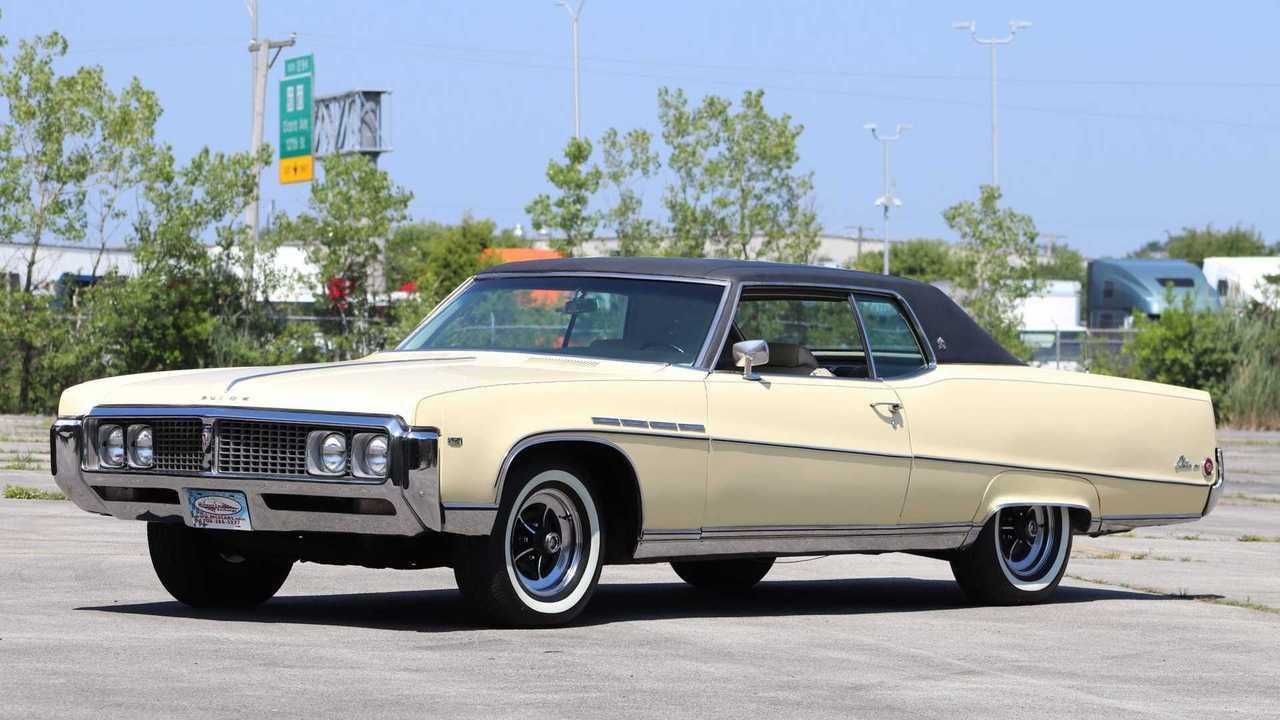 Dreamy Cameo Cream 1969 Buick Electra 225 Sport Coupe