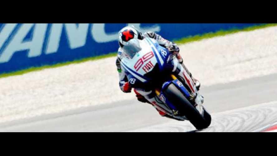 MotoGp 2010, Sepang, Qualifiche: Lorenzo torna in pole