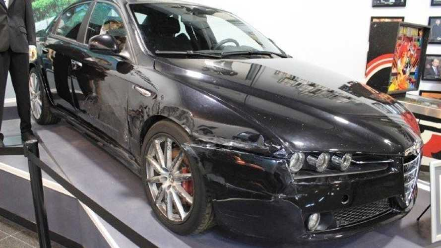 Genuine 007 Alfa Romeo 159 From Quantum Of Solace Up For Grabs!