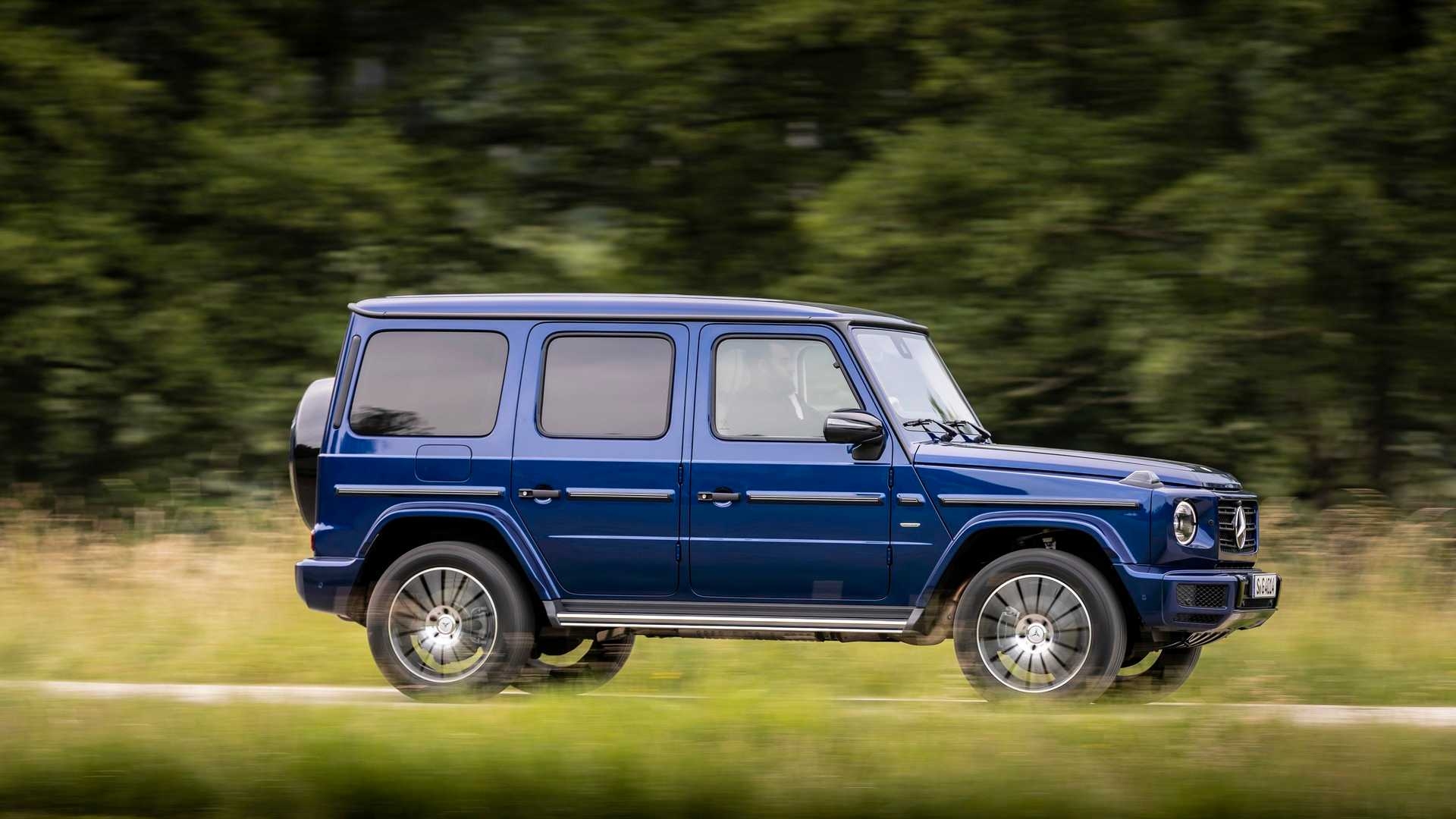 Mercedes Amg G63 Celebrates 20th Anniversary With Cool Packages