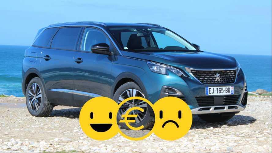 Promozione Peugeot 5008, perché conviene e perché no