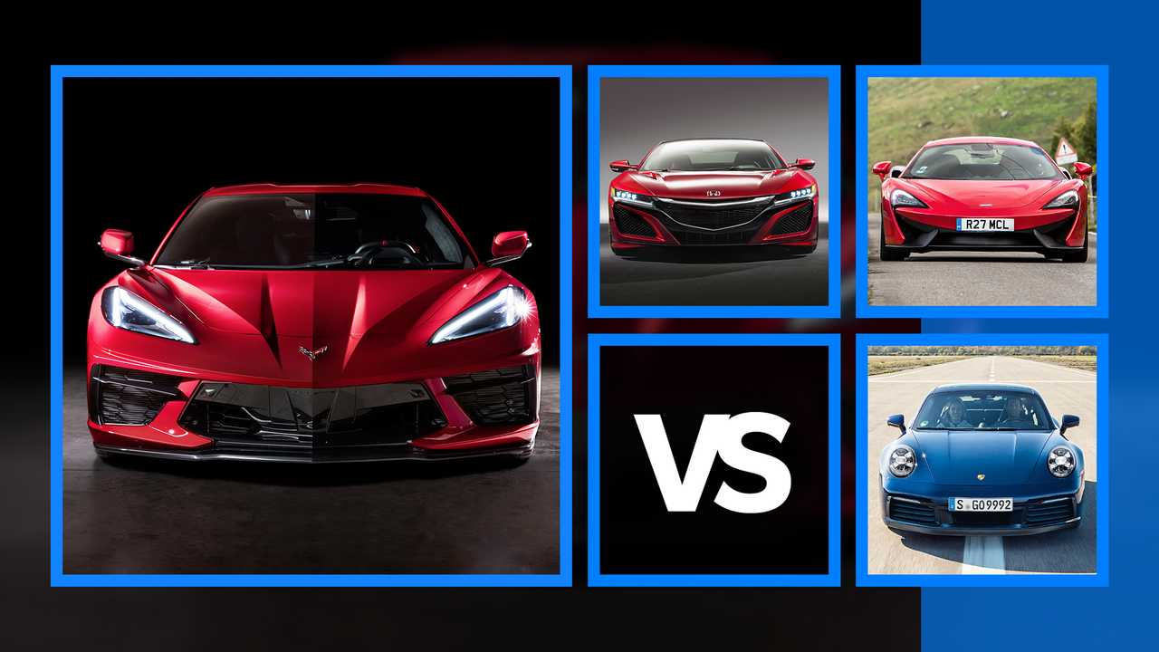 Nuova Chevrolet Corvette Stingray vs