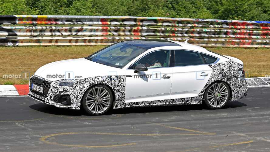 2020 Audi S5 Cabrio and Sportback spied not hiding minor changes