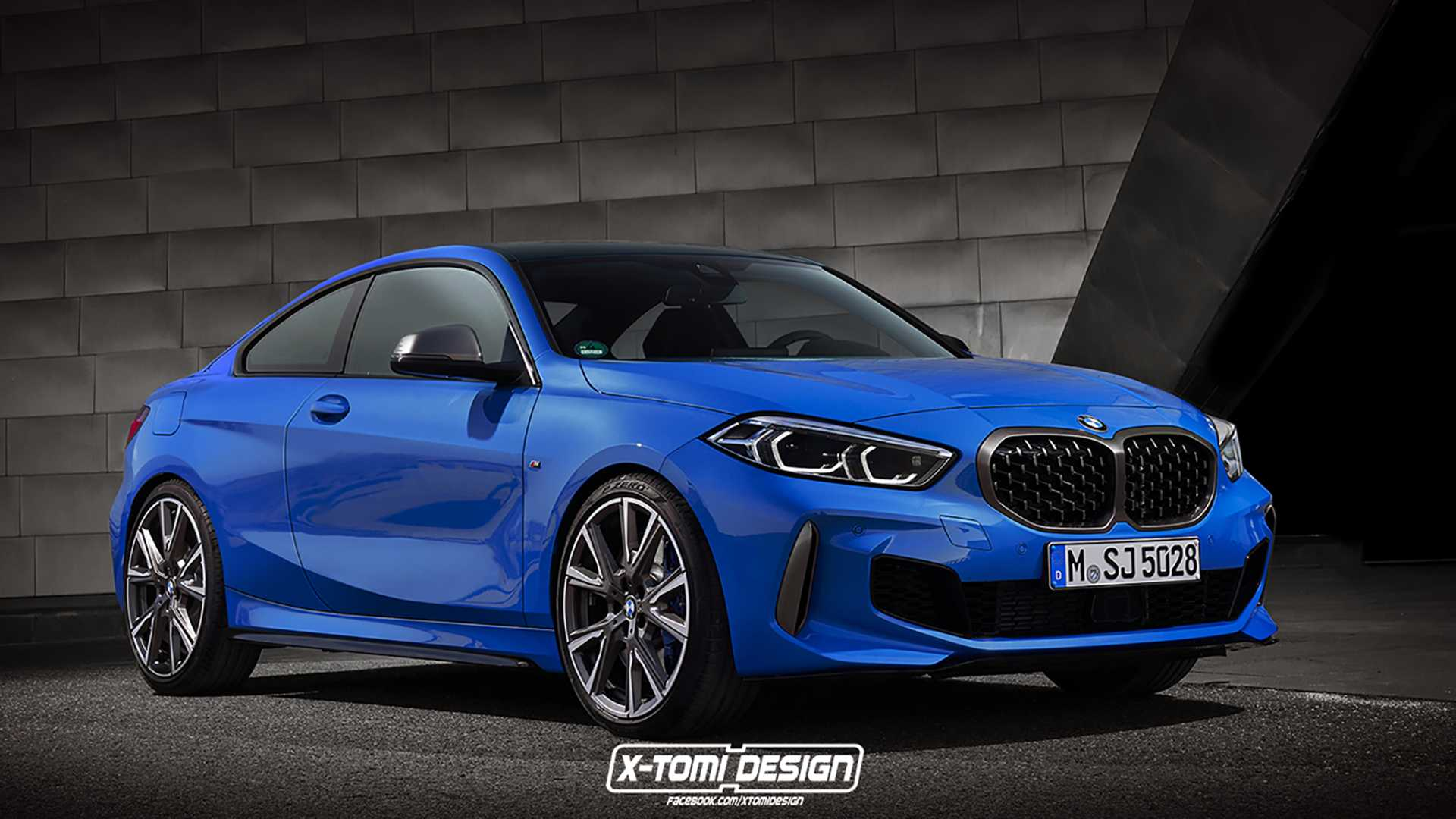 Next Gen Bmw 2 Series Coupe Rendering Looks Drifty