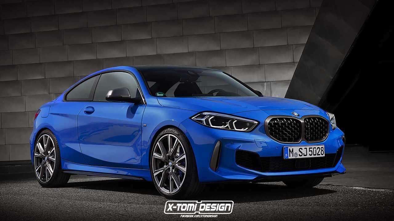 BMW 2 Series Rendering