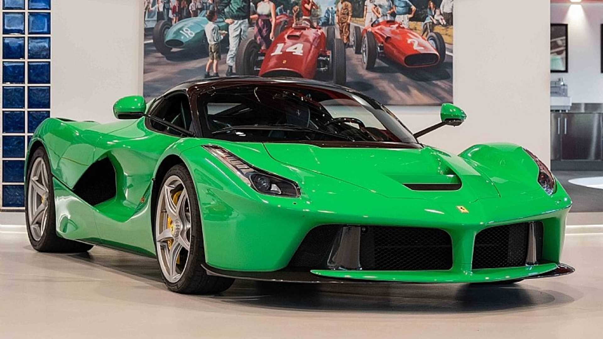 Ferrari Laferrari For Sale >> Jay Kay S Green Laferrari Is For Sale