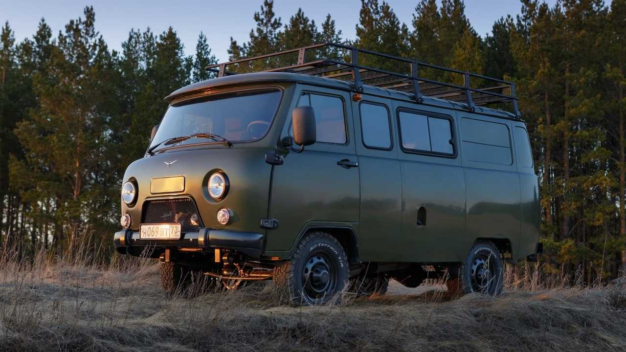 UAZ 3909 Bukhanka Trophy Edition