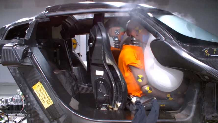 See How Koenigsegg Crash Tests Its Million-Dollar Hypercars