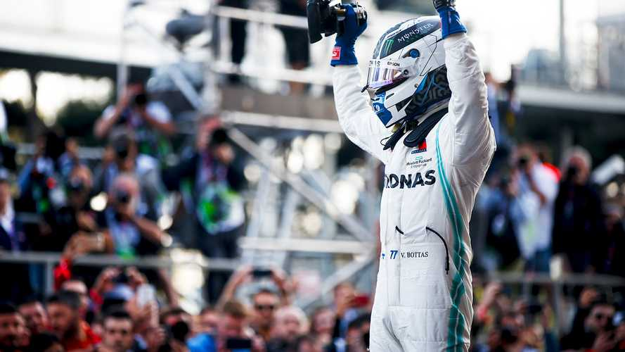 Azerbaijan GP: Bottas leads fourth consecutive Mercedes 1-2