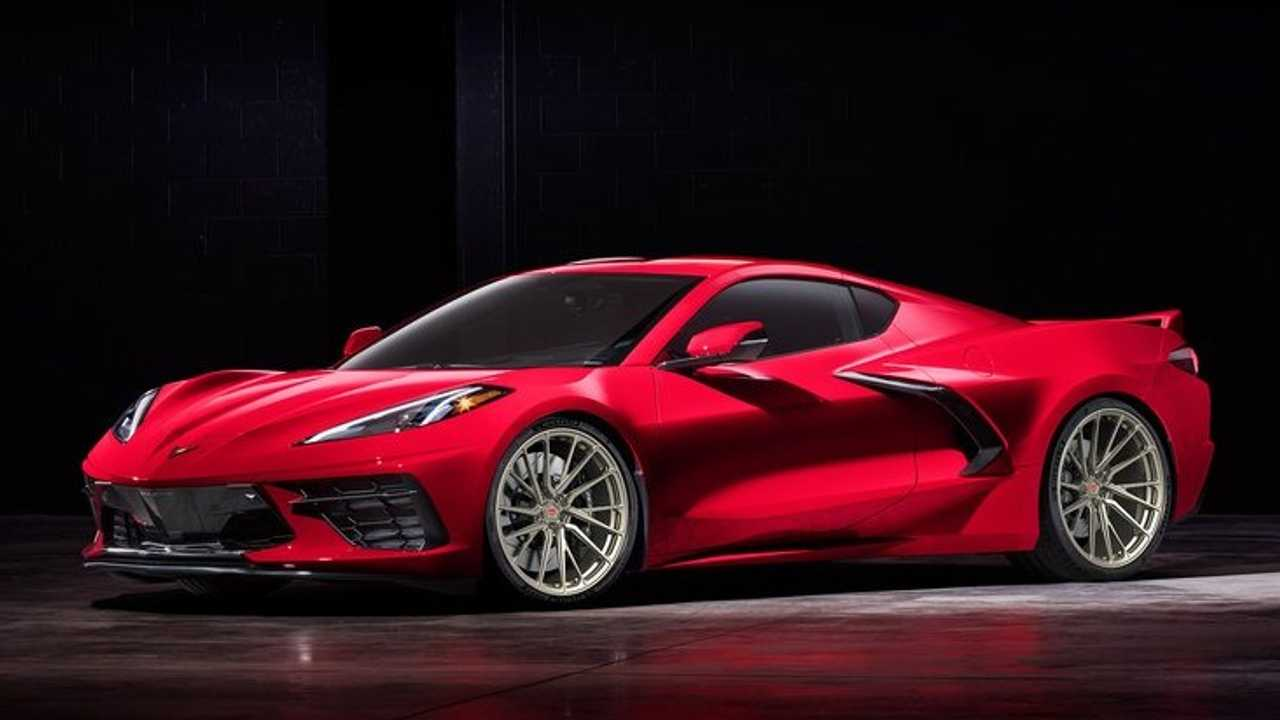2020 Chevy Corvette Looks Even Better On Aftermarket Wheels