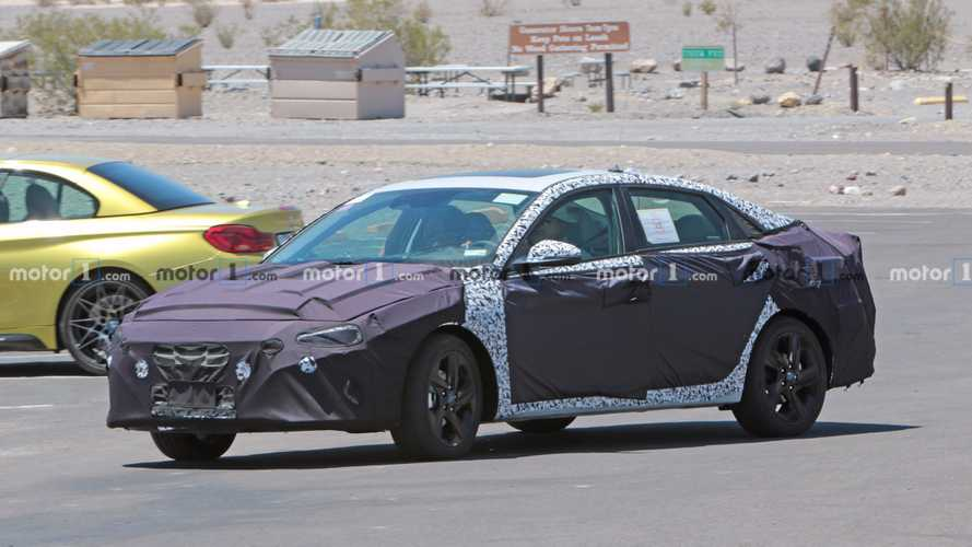 Next-Gen Hyundai Elantra Spied For First Time