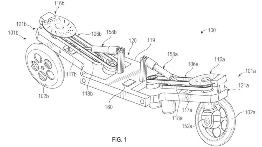 Facebook Self-Balancing Robotic Motorcycle Patent