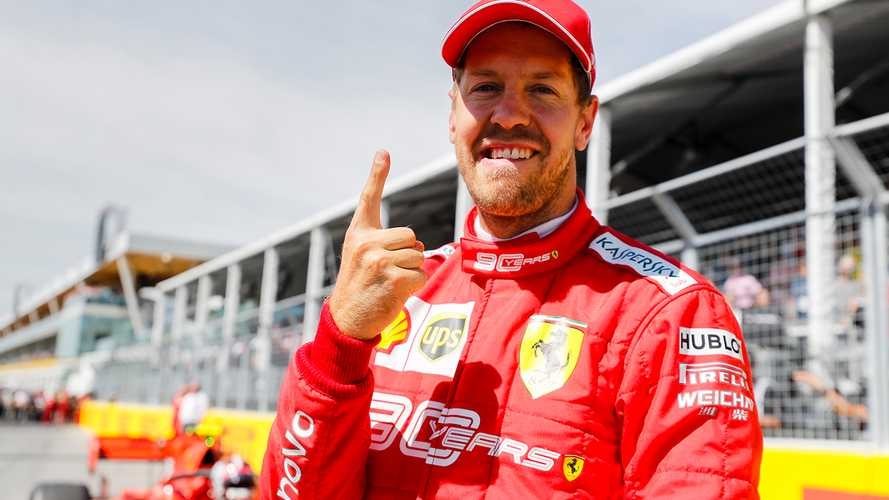 Canadian GP: Vettel beats Hamilton to end pole drought