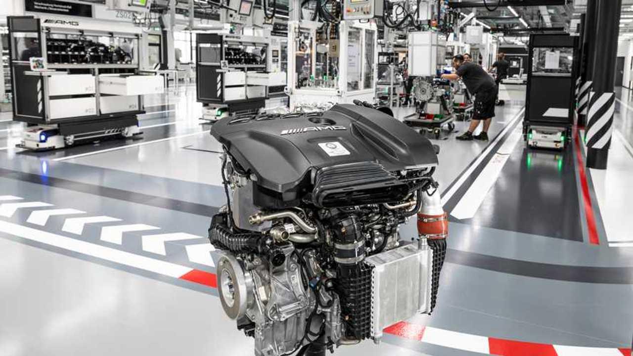 Motore Mercedes-AMG M139
