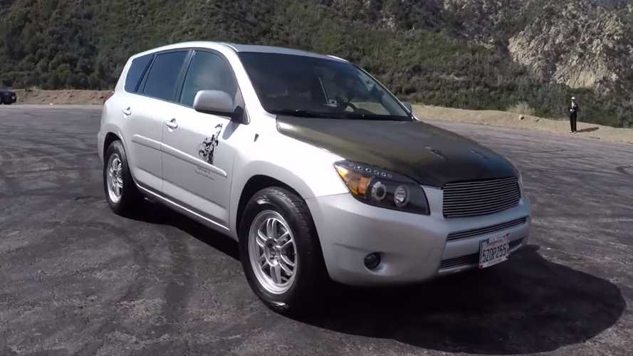 Single-seat Toyota RAV4 is a stripped-out, supercharged SUV