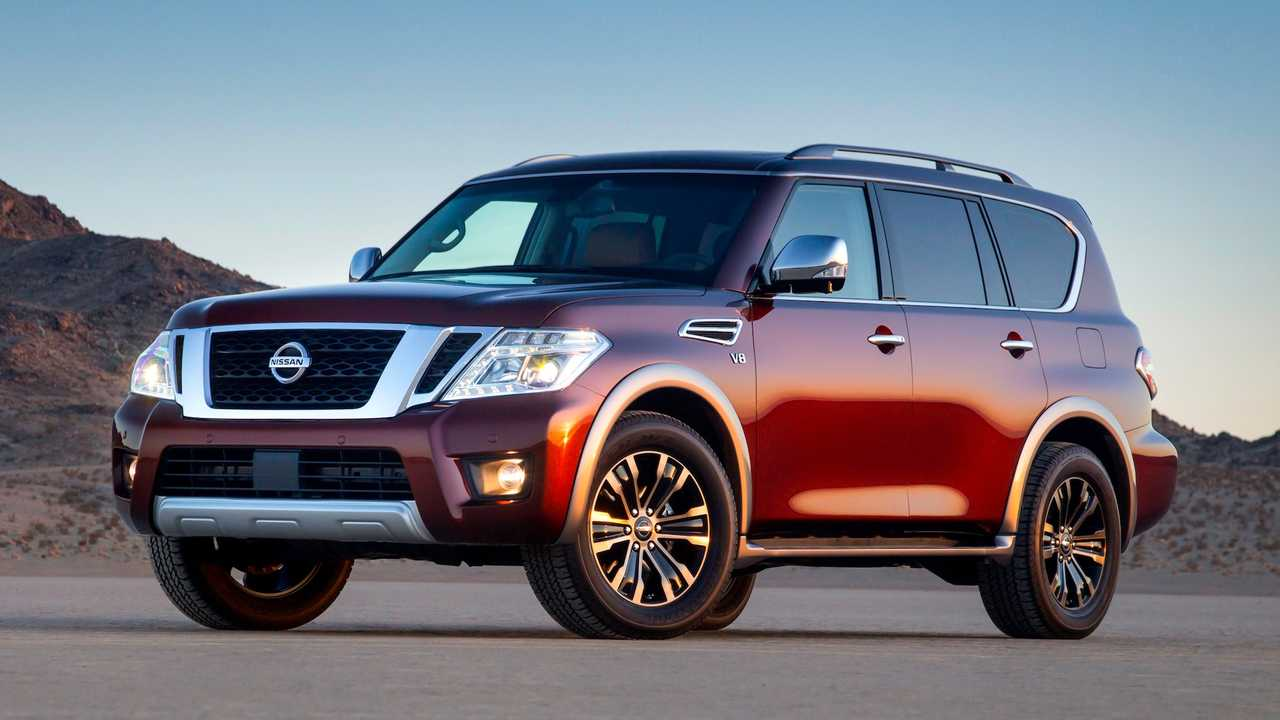 Full-Size SUV/Crossover: Nissan Armada