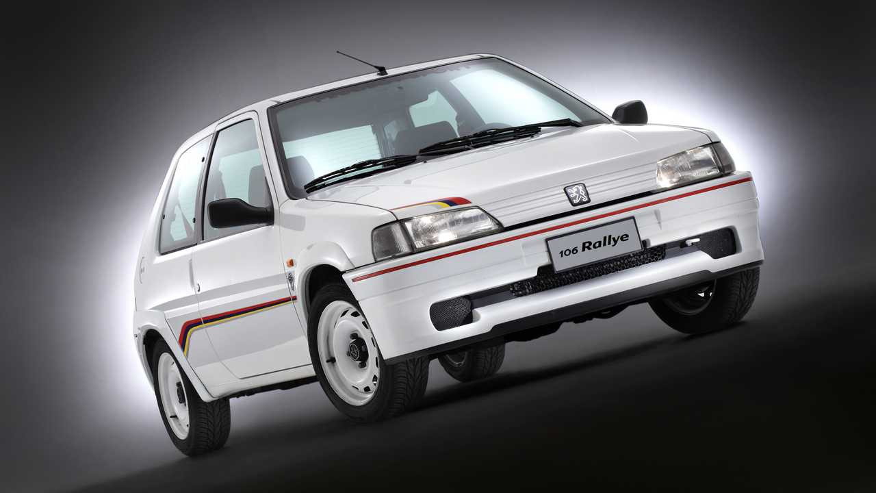 Peugeot 106 Rallye, fotos históricas