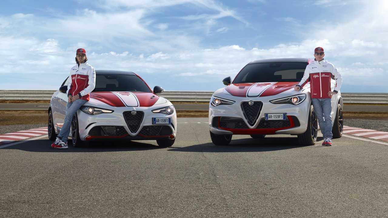 Alfa Romeo Stelvio y Giulia Quadrifoglio Alfa Romeo Racing