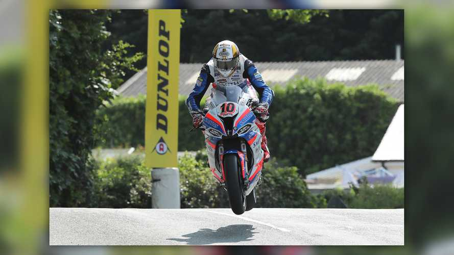 Isle of Man TT: Hickman wins red-flagged Superbike opener