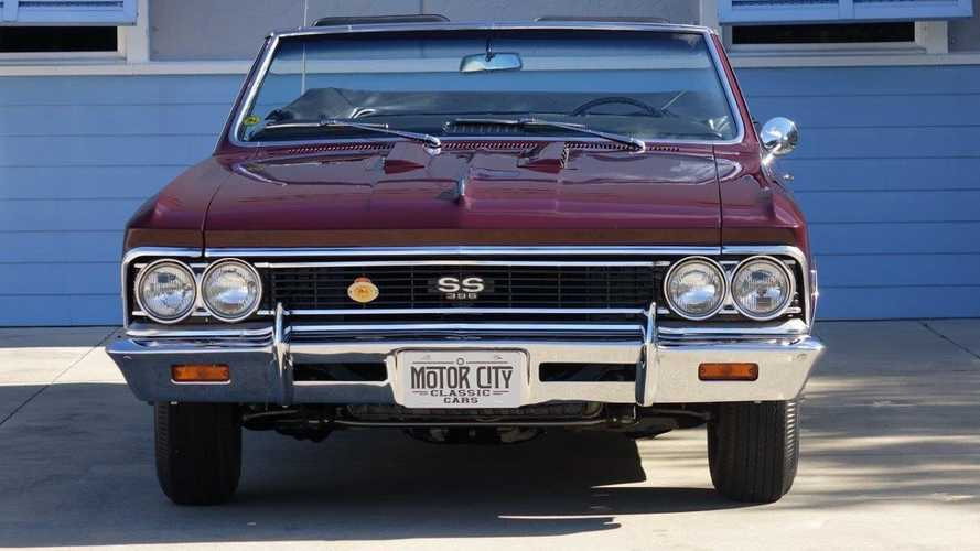 Award Winning 1966 Chevelle SS396 Deserves A Place In Your Collection