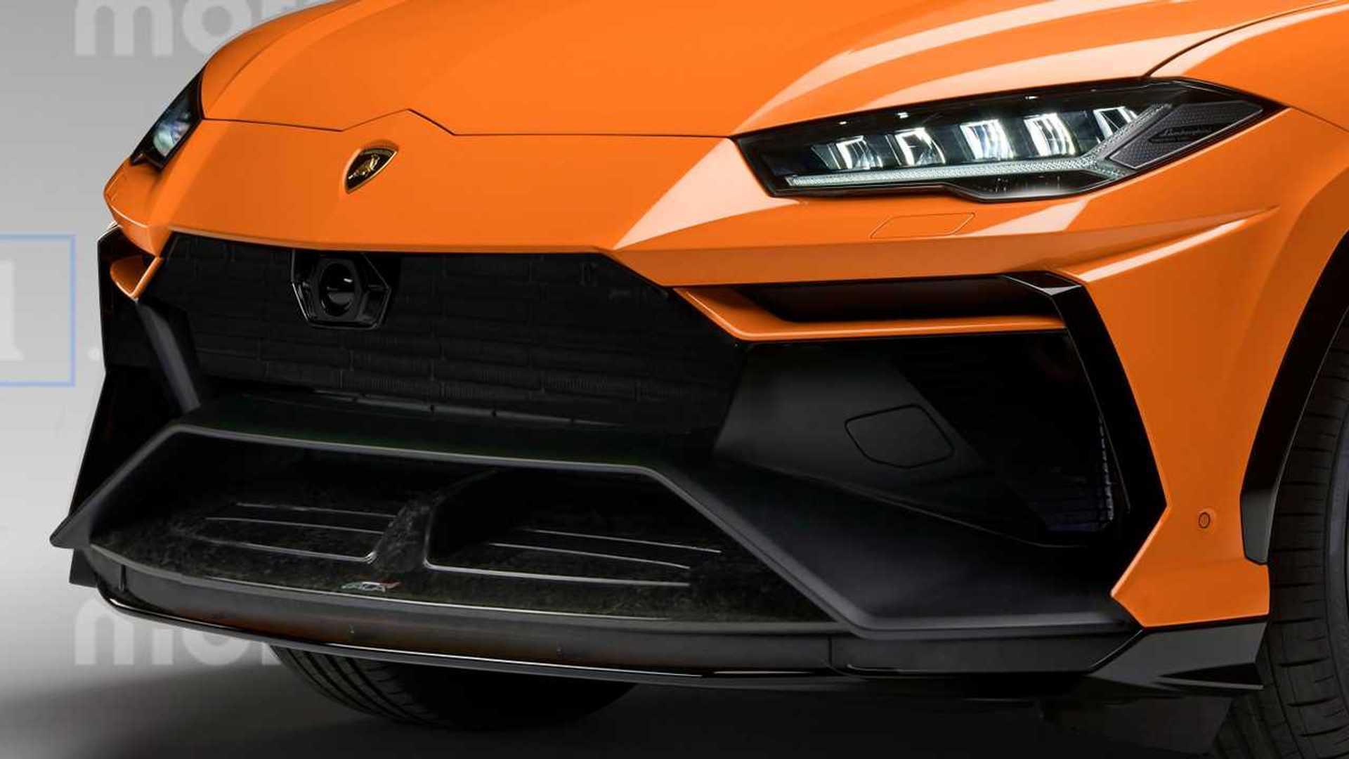 Lamborghini Urus Performante Rendering Previews Supercar Of SUVs