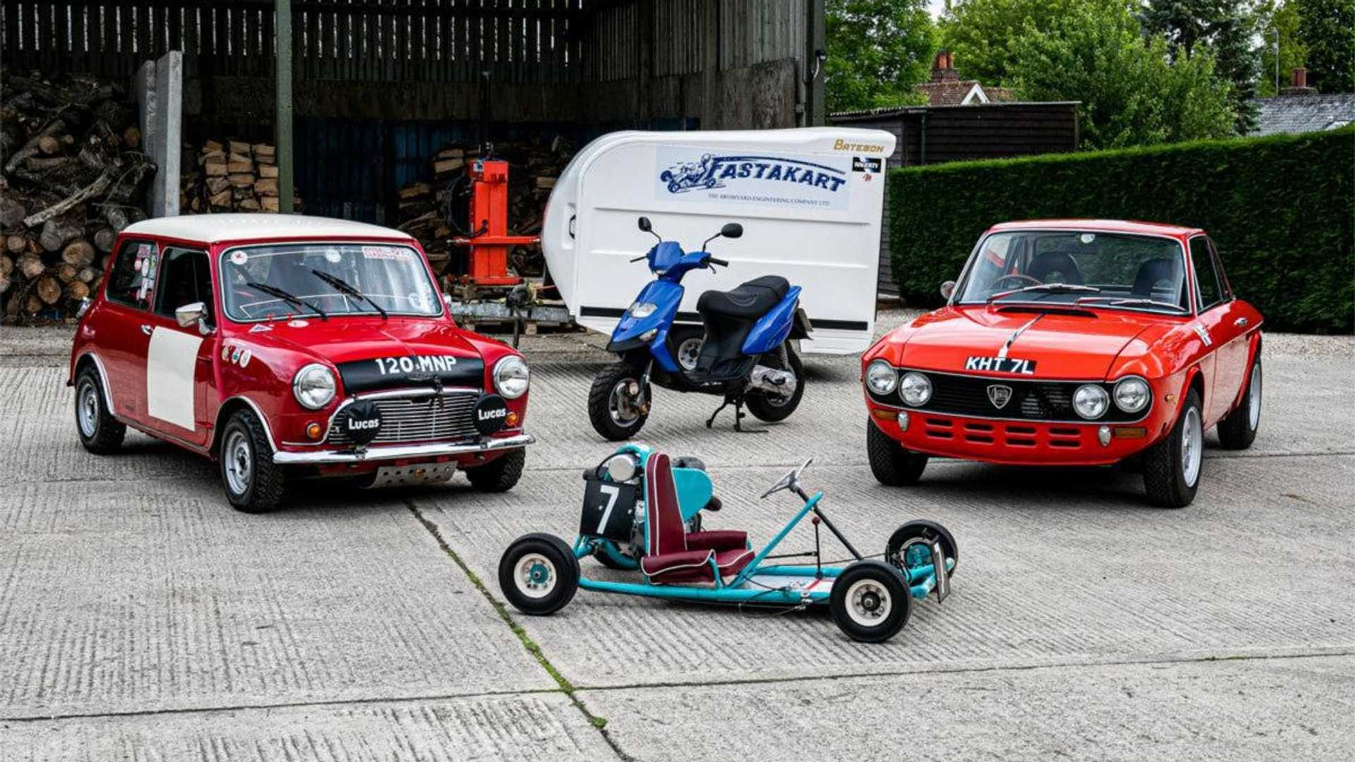 "[""British Racing Legend Barrie Williams' Car Collection Heads To Auction""]"