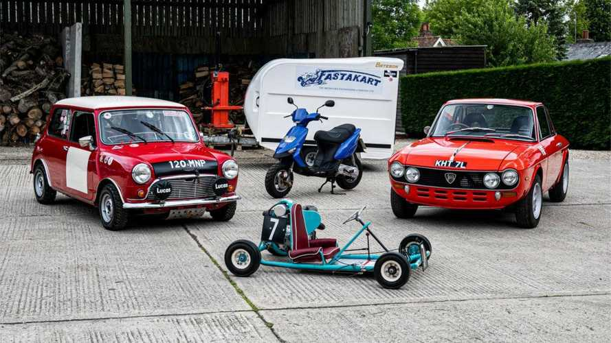 British Racing Legend Barrie Williams' Car Collection Heads To Auction