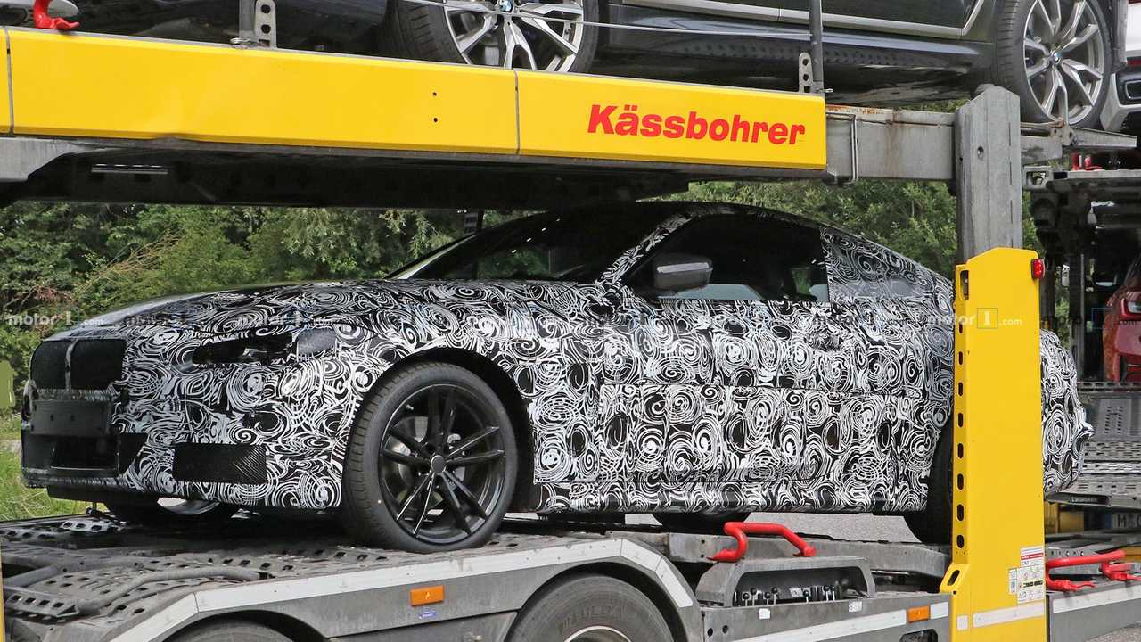 BMW 4 Series Coupe Spy Photos