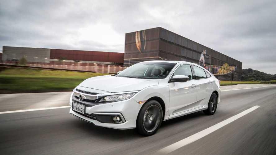 Honda Civic foi o carro mais buscado em 2020; VW lidera entre marcas