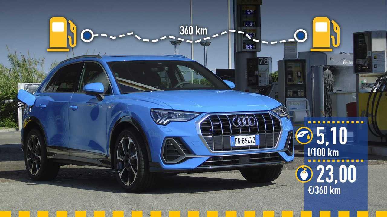 Prueba de consumo Audi Q3 TDI