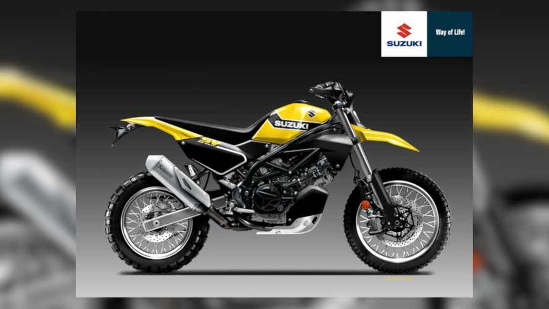 Someone Please Make This Suzuki SV650 Rally Design Real