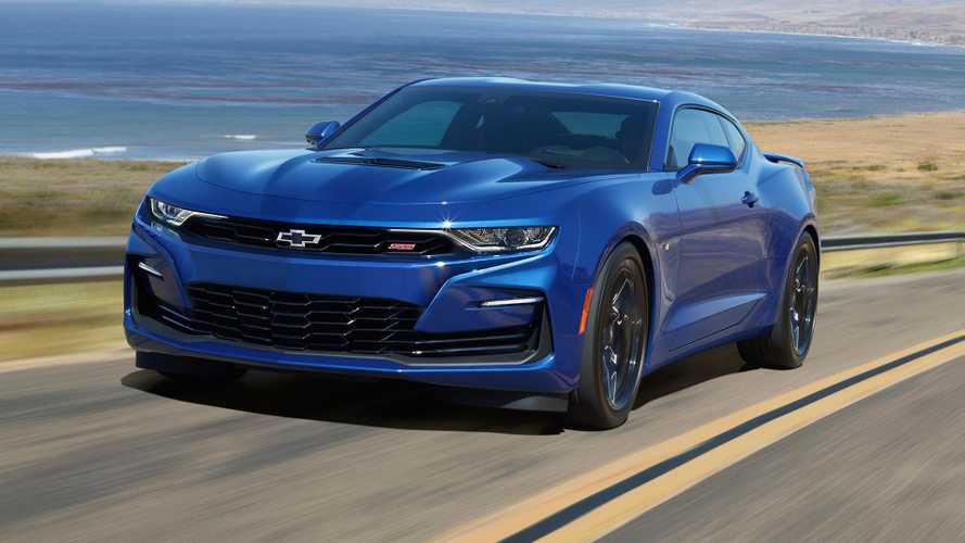 2020 Chevrolet Camaro Saves Face, Shows Its New Grille