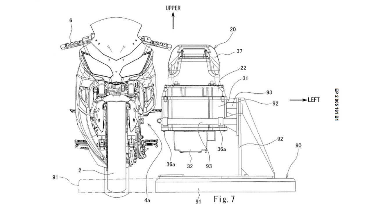 Kawasaki Electric Ninja Patenti