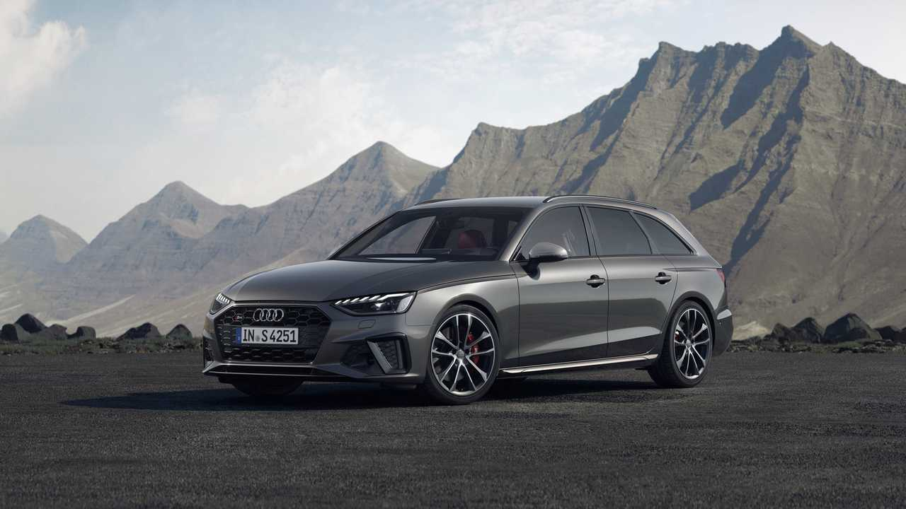 2020 audi a4 lineup debuts with refreshed face hybrid power. Black Bedroom Furniture Sets. Home Design Ideas