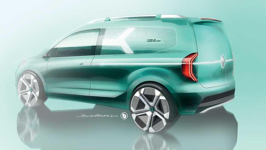 2020 Renault Kangoo Z.E. Concept