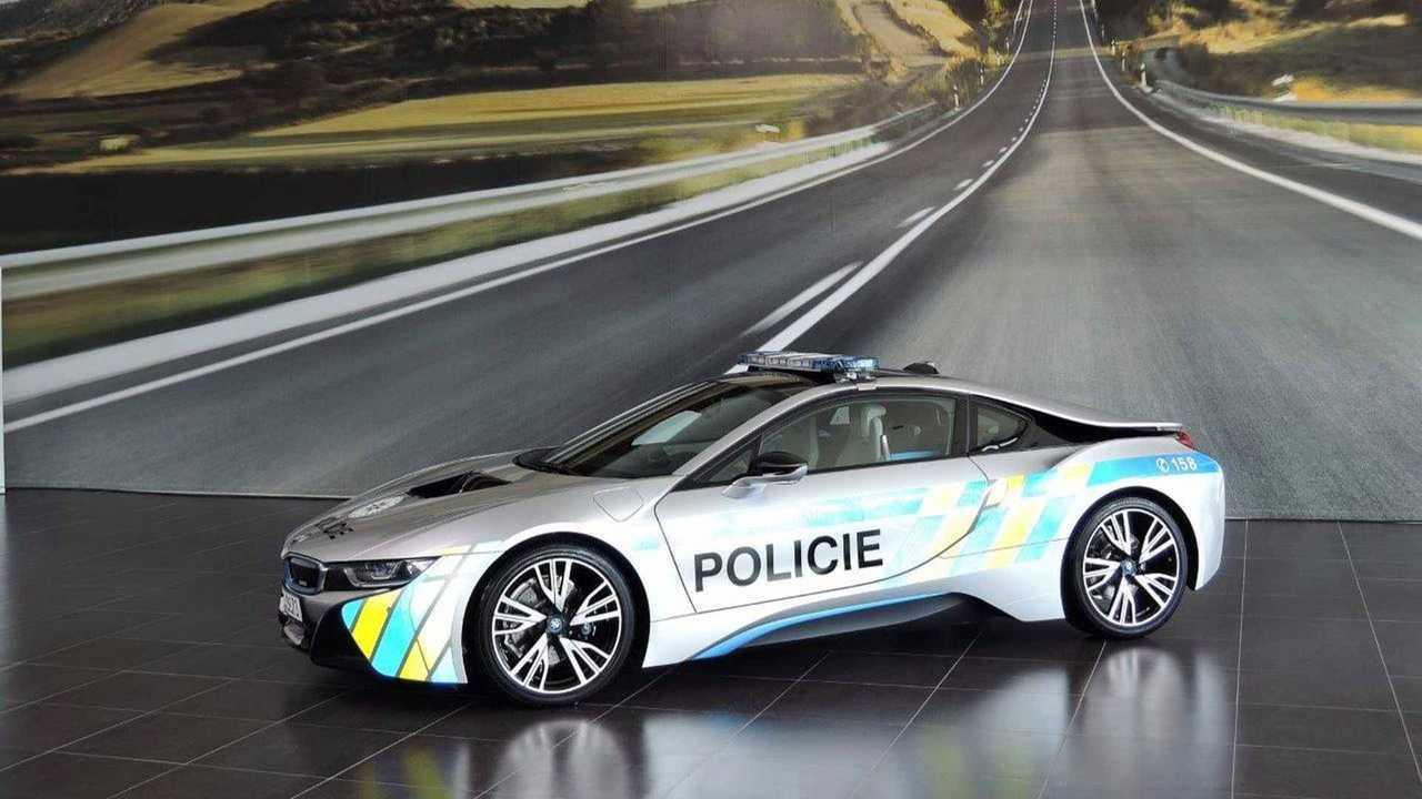 BMW i8 – Polícia da República Checa