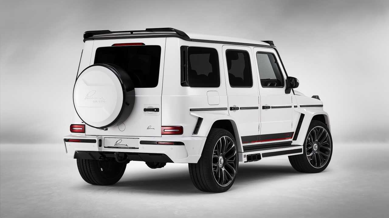 Mercedes Amg G63 Gets Six Exhausts From Lumma Design
