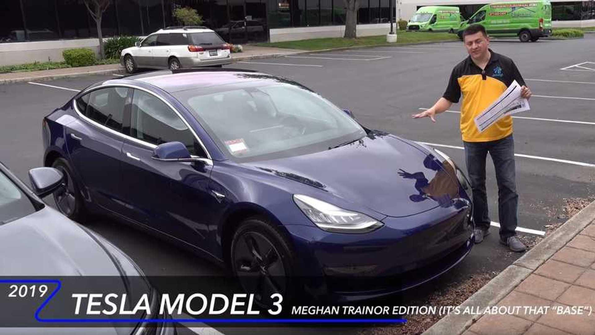 Alex On Autos Presents Base Tesla Model 3 Standard