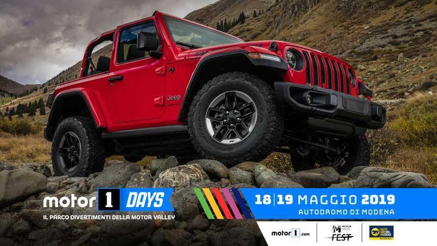 Dalla terra alla strada con Jeep ai Motor1Days 2019