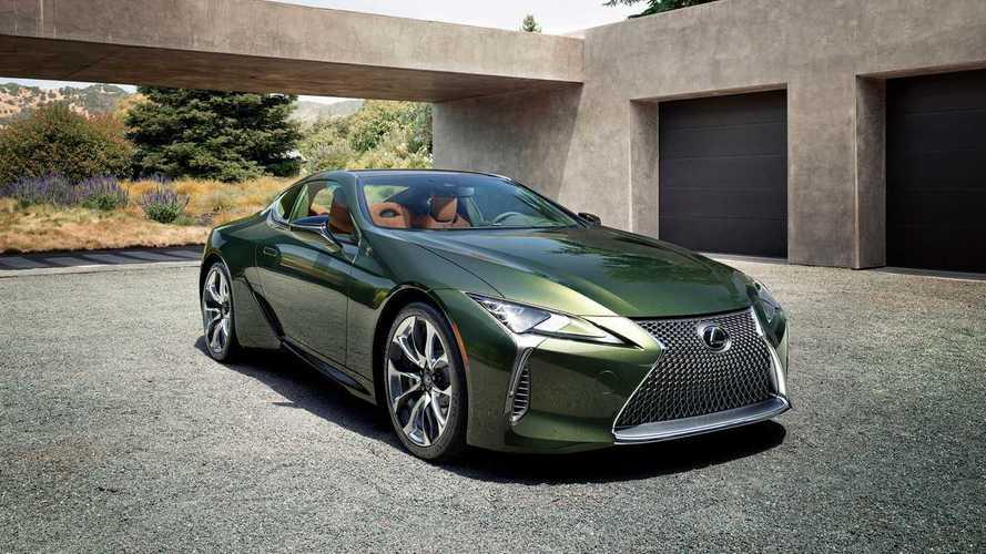Lexus LC 500 Inspiration Series 2020, nueva serie especial