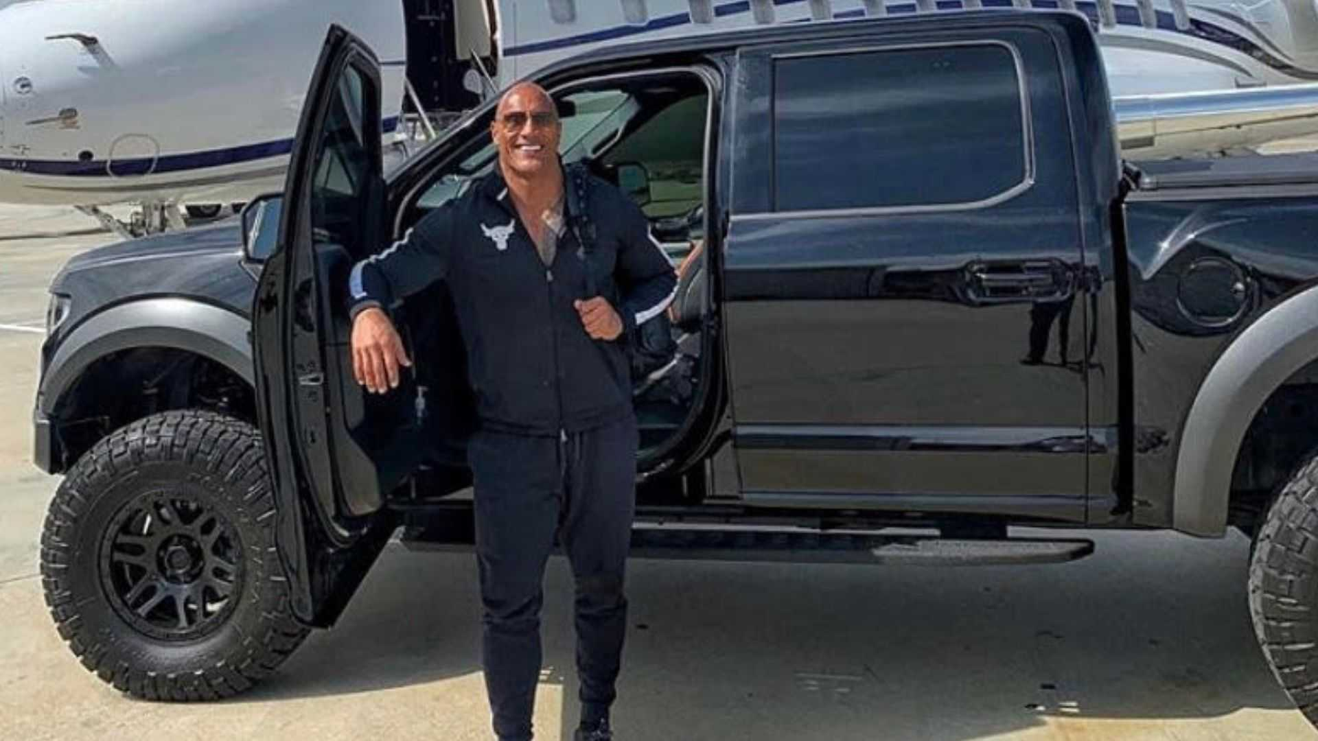 "[""Check Out Dwayne The Rock Johnson's Car Collection""]"