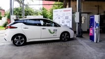 Nissan Leaf e il Vehicle to Grid a Milano